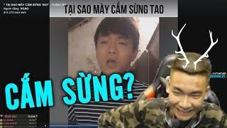 """Quang Cuốn Reaction Bài Rap """"Những Cô Nàng Vàng Trong Làng Cắm Sừng"""""""