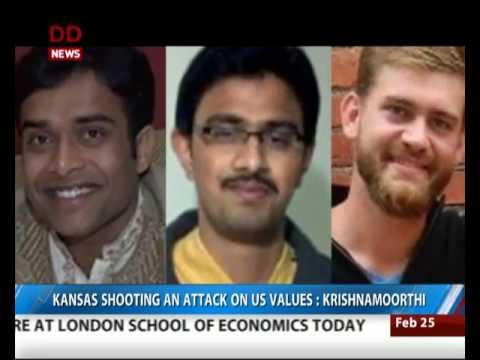 Indian Embassy in Washington closely monitoring Kansas shooting
