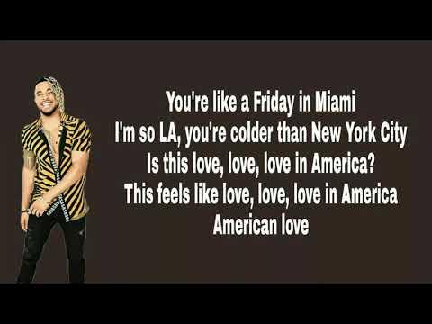 American Love Lyrics - Scotty Sire FT. Elijah Blake & Myles Parrish