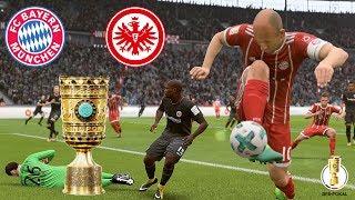 FC Bayern München  vs. Eintracht Frankfurt 🏆 DFB-Pokal Finale I FIFA 18