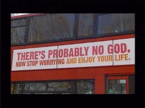'No God' slogans for city's buses