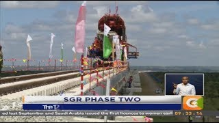 President Kenyatta wants Nairobi-Naivasha SGR completed on time