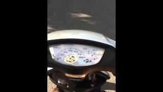 Honda Dio AF34 Top speed