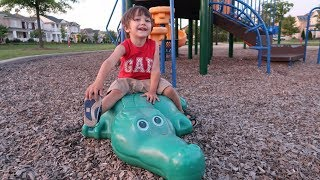 Outdoor Playground for Kids with Zack