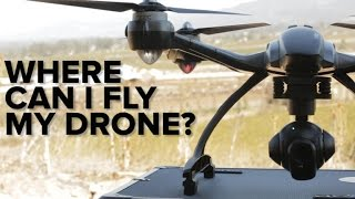 drones 101 where can i fly my drone?