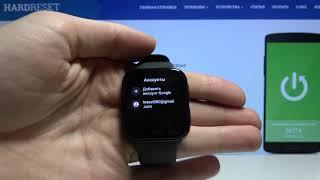 Как добавить или изменить аккаунт Google на OPPO Watch 41mm — Учётные записи