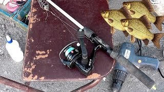 Ловил на ДОНКУ с кормушкой. Насадка- червь, опарыш. Рыбалка. Fishing