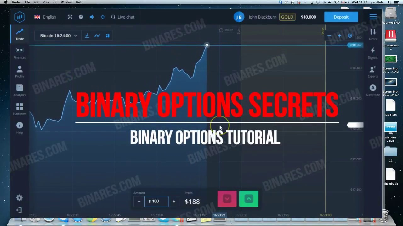 Binary option trading tutorials