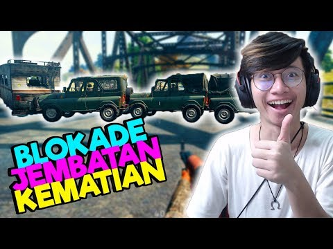 UPDATE 0.9.0 BLOCKIR JEMBATAN + AZAB SUPPLY With SRIMULAT - PUBG MOBILE INDONESIA