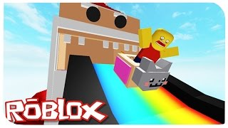 ESCAPE FROM the MAD SANTA! | ROBLOX ON RUSSIAN |
