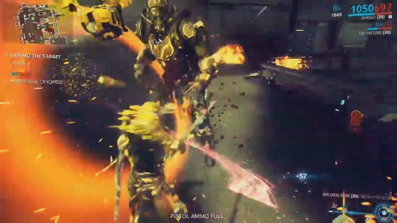 Warframe Defeating Wolf Of Saturn Six Again W Broken War Sword