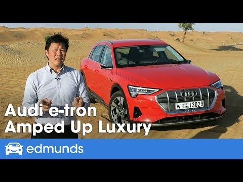 2019 Audi e-tron Joins the Luxury EV Class   Edmunds