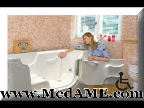 Medical Bath Aids for the Elderly - YouTube