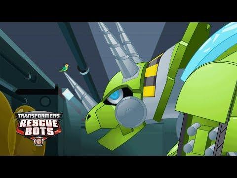 Transformers: Rescue Bots Season 4 - 'Boulder's Little Friend' Official Clip