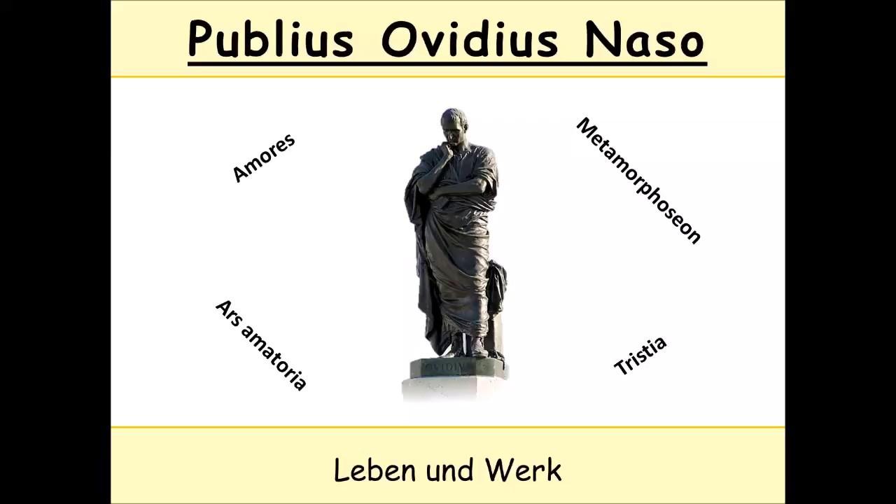 Download Ovid - Biografie und Werk (Publius Ovidius Naso   Metamorphosen   Ars amatoria)