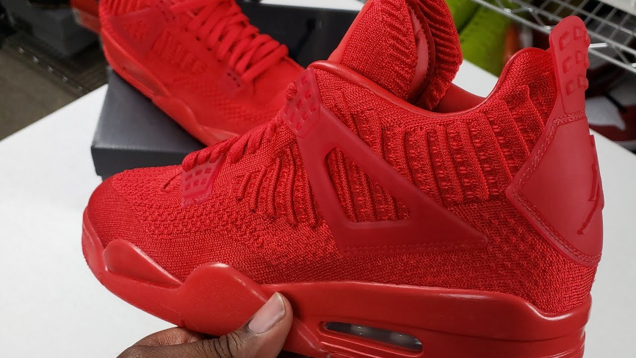 nike air jordan 4 retro flyknit