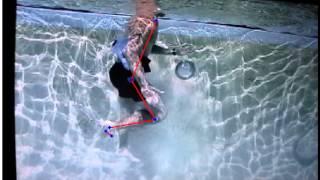 aqua jogging with belt video