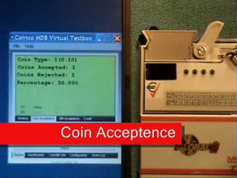 Coinco Multi-Drop Bus (MDB) Virtual Test Box VMTB-400