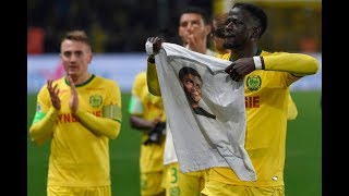 Emotional ninth-minute tribute to Emiliano Sala at Nantes
