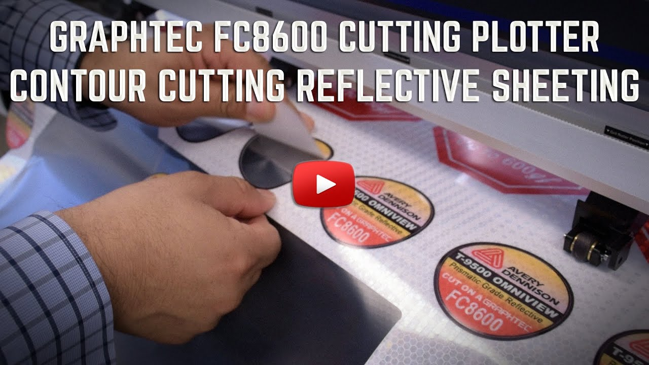 FC8600 Prismatic Reflective Expanded Contour Cutting - YouTube
