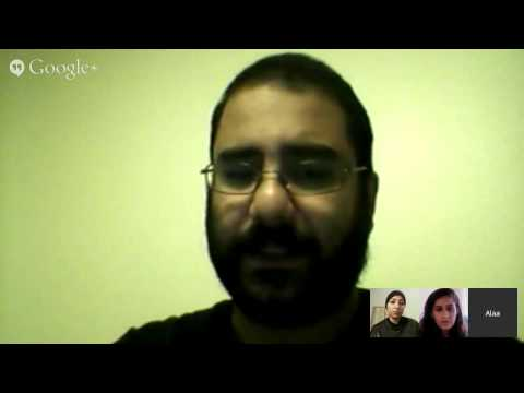 GV Face: Alaa Abd El Fattah and Maryam Al Khawajah on Hunger Strikes and Protests in Egypt and Ba...