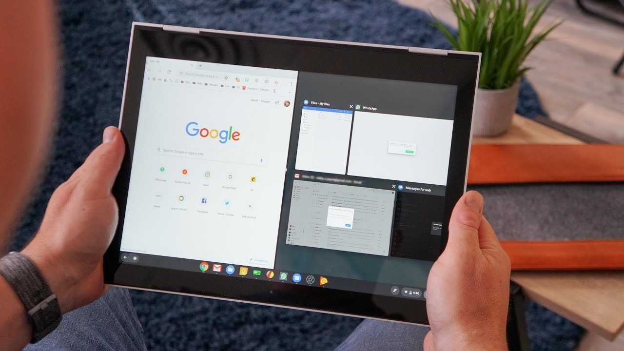 New Chrome Os 78 Tablet Ui Youtube
