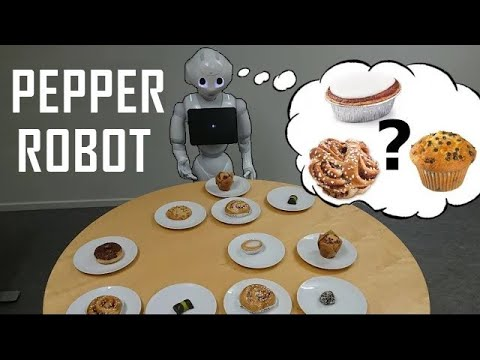 Pepper Robot Disambiguating Sweets of Sweden