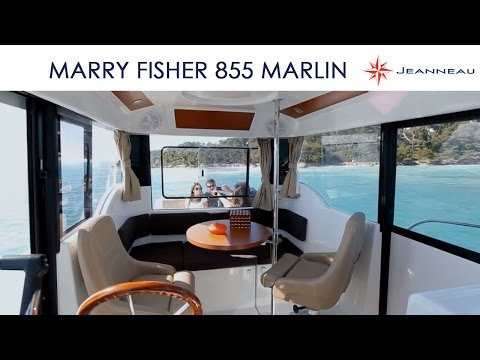 Merry Fisher 855 Marlin - By Jeanneau