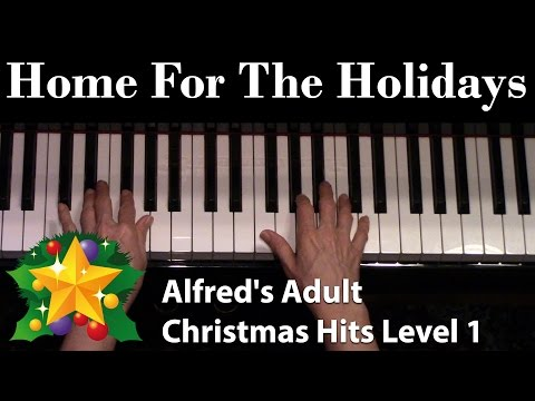 Home for the Holidays (Elementary Piano Solo)