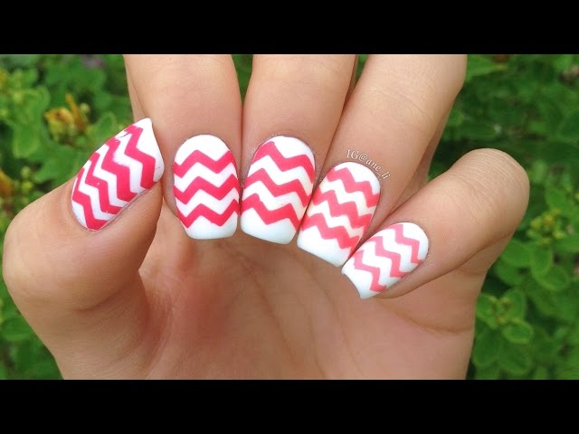 How to do chevron nails 8 steps with pictures wikihow solutioingenieria Gallery