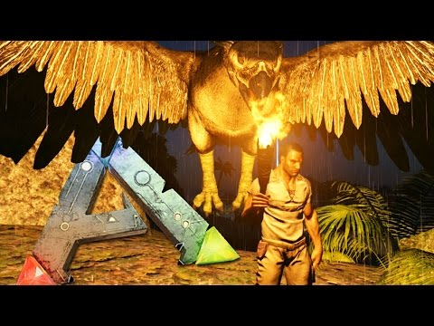 ARK Survival Evolved Gameplay Part 1 - CRAZY BIRD - Online Walkthrough Part 1| Pungence