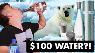 Tap Water vs. £100 Mineral Water!? Blind Taste Test!!