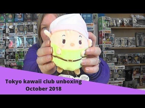 Tokyo kawaii club unboxing October 2018