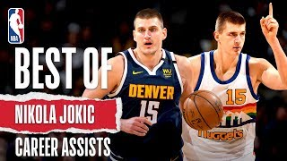BEST Career Assists From Nikola Jokic!