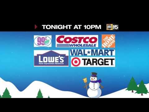 Holiday Deals Store Comparison