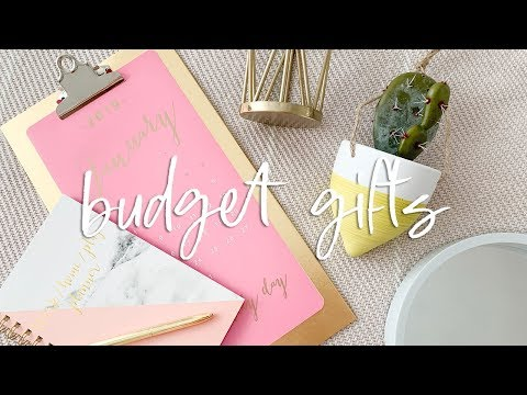 EASY Budget Christmas Gifts | DIY Gift Hampers From POUNDLAN