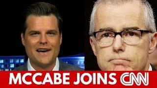 Gaetz Slams CNN For Hiring McCabe, Talks Overstock CEO