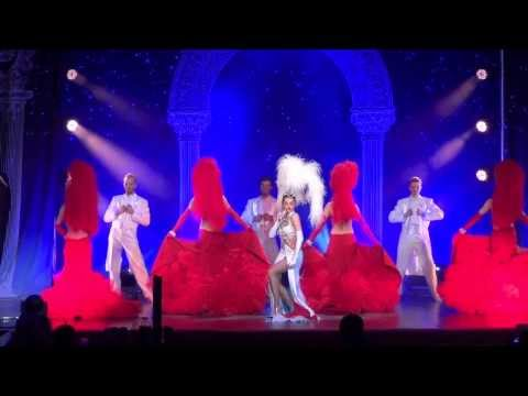 "spectacle cabaret ""Divine France"", music-hall Daniela Gihr"