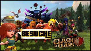 CLASH OF CLANS BESUCHE [6] ★ Let's Play COC ★ German Deutsch HD Android IOS