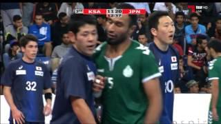 ハンドボール アジア選手権 3位決定戦 日本vsサウジアラビア 後半