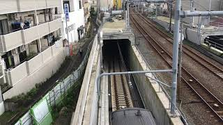 【試運転】西谷トンネルに入り羽沢横浜国大駅に向かう相鉄12000系【相鉄新横浜線】