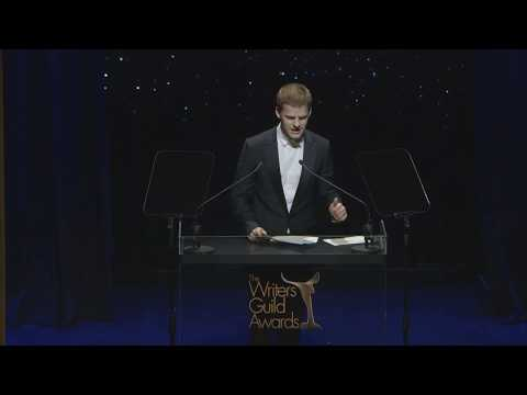 2018 Writers Guild Awards  Lucas Hedges presents Adapted Screenplay