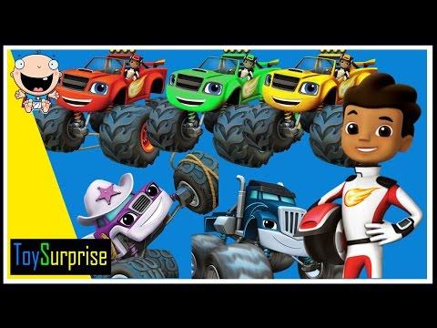 Blaze y los Monster Machines en Español | Patrones para niños | ToySurprise