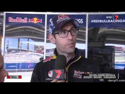 Craig Lowndes and Warren Luff crash Bathurst 2014 V8 Supercars