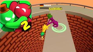 Noodleman.io 2 Fun Fight Party Game || (Android,ios) Gameplay - Walkthrough