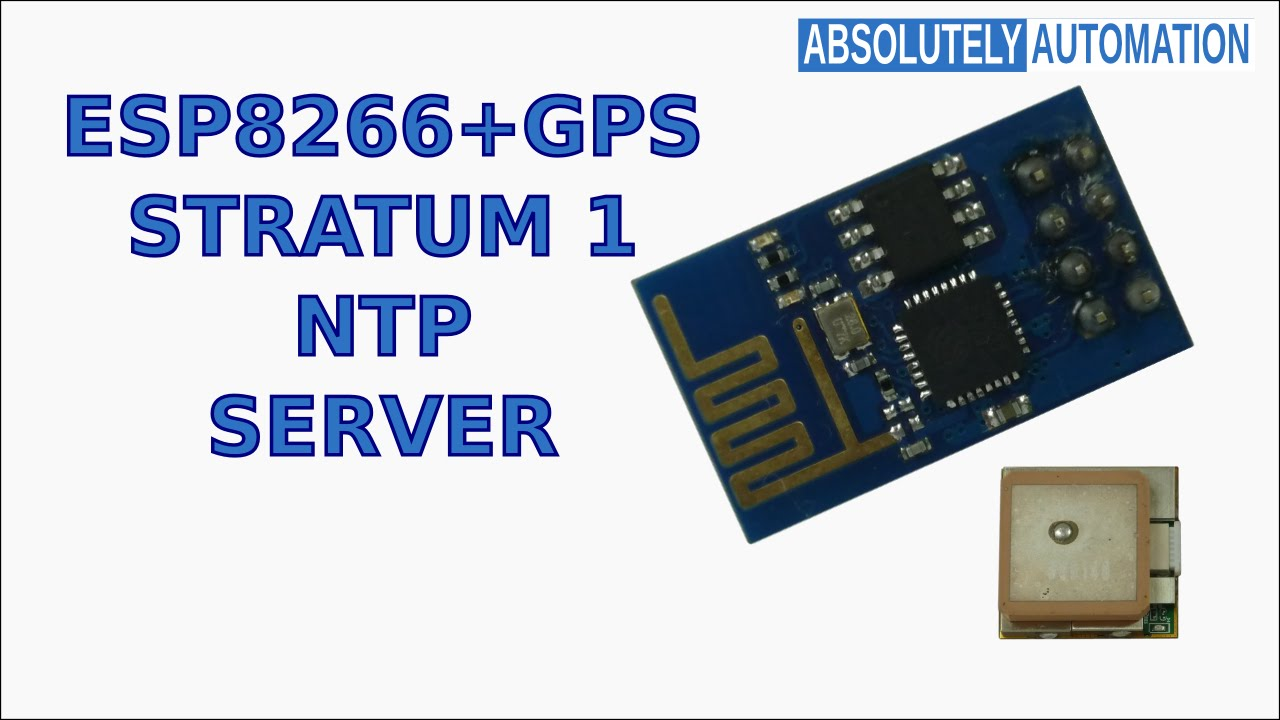 ESP8266 Wireless NTP Stratum1 Server: 5 Steps