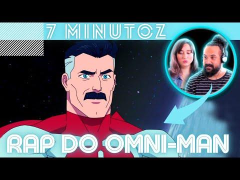 "OLHEM PRO CÉU ! MÚSICOS REAGINDO | 7 MINUTOZ - ""RAP DO OMNI-MAN (INVENCÍVEL)"" |  REACT/ANÁLISE"