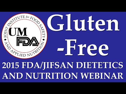 2015 Dietetics and Nutrition Webinar - Gluten-Free