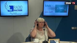 """Исполнительный директор Латвийской ассоциации интернета Ина Гуделе в программе """"Разворот"""" #MIXTV"""