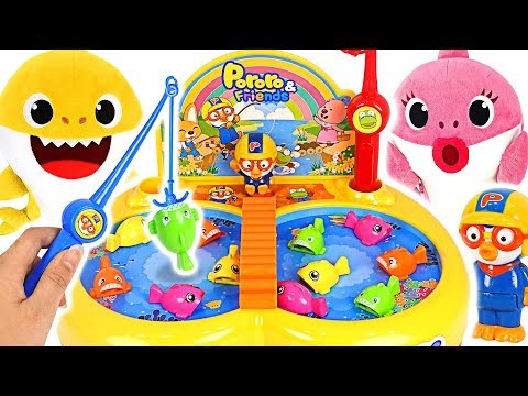 Pororo Moving Fishing Battle! Who is the Winner? #PinkyPopToy